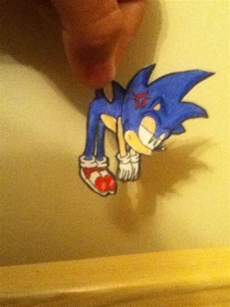 How To Make Paper Sonic - sonic paper child 2 by toastyhedgehog on deviantart
