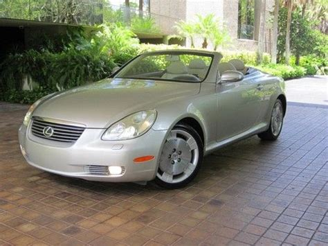 lexus convertible 4 door purchase used 2005 lexus sc430 base convertible 2 door 4