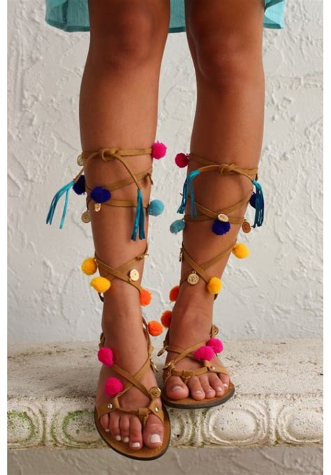 Sandal Pompom by Pom Pom Sandals