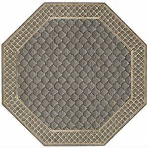 Octagon Kitchen Rug Vallencierre Va26 8 0 Octagon Rug Platinum Kitchen Dining
