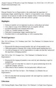 resume exles professional memberships images of butterflies professional member service representative templates to showcase your talent myperfectresume