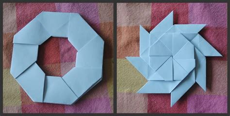 Origami Shuriken 8 Point - origami 8 point by classicrose on deviantart
