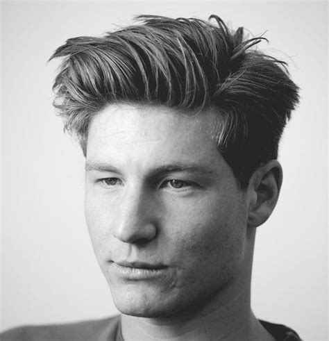 mens hairstyle no product best medium length men s hairstyles