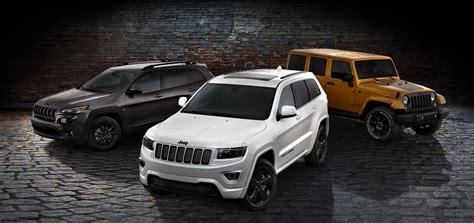 jeep grand cherokee altitude 2014 jeep cherokee grand cherokee and wrangler get