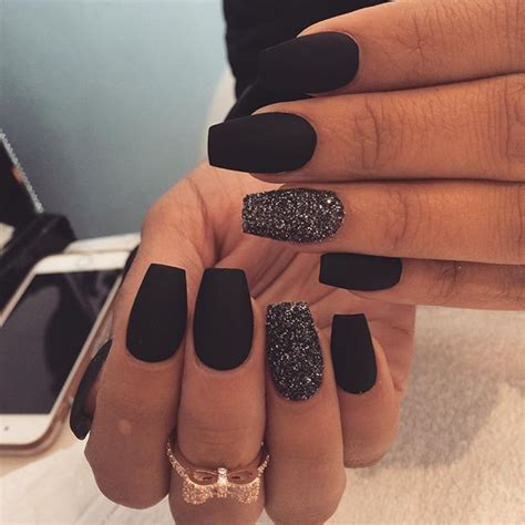 matte black nail designs best 25 matte black nails ideas on matte