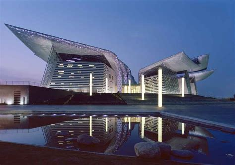 architects design wuxi grand theatre finnish design in china e architect