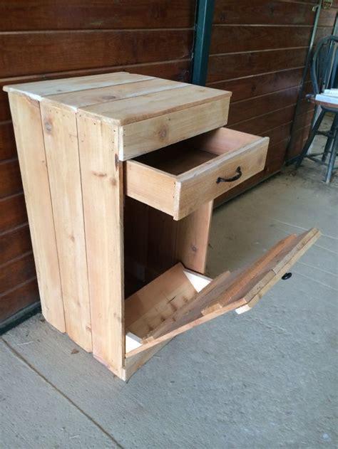 wooden trash can the 25 best trash bins ideas on pinterest tilt trash