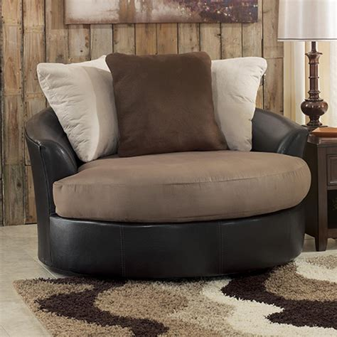 oversized swivel accent chair 14201 21 masoli oversized swivel accent chair