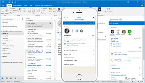 Office 365 Outlook App Iphone Dynamics 365 App For Outlook Is Coming Soon Microsoft