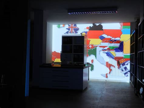 Interior Projection Mapping by Interior 3d Projection Mapping Florence 2013 Visual Skin