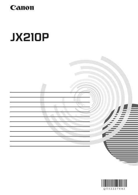Fax Canon Jx 210 P canon fax machine fax jx210p manual
