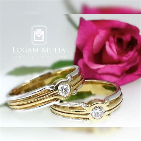 Wedding Ring Jual by Jual Wedding Ring Hkwm Kn 75 Ldd Lnd Logammuliajewelry