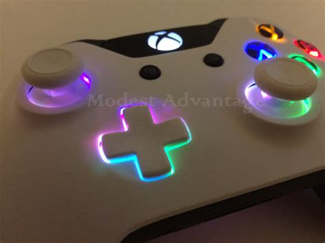 xbox one controller with led lights xbox one controller underglow led installation