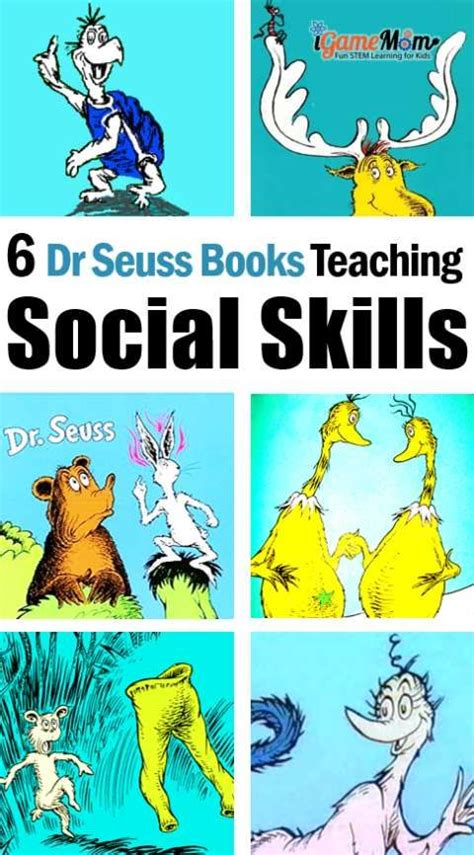 themes in dr seuss stories dr seuss books teaching kids social skills social skills