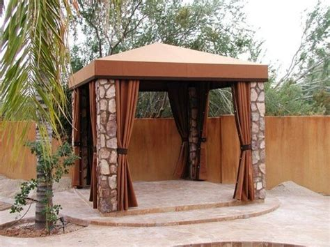 Outdoor Tents For Patios by 34 Square Gazebos To Give Your Back Yard Style