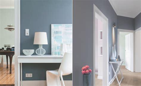 wandfarbe blau kolorat - Wandfarbe Grau Blau
