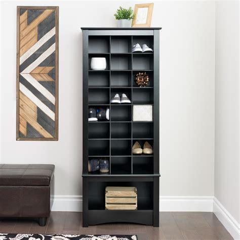 Closet Organizer Near Me Prepac 24 3 4 In X 61 1 4 In Black 24 Cube Organizer