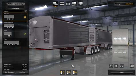 lusty tippers   trailer ats mod american truck simulator mod