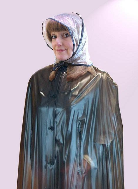 lade in pvc by plastic raincapes rainponcho s