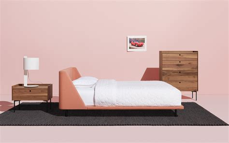 nook bed nook king bed modern king bed blu dot