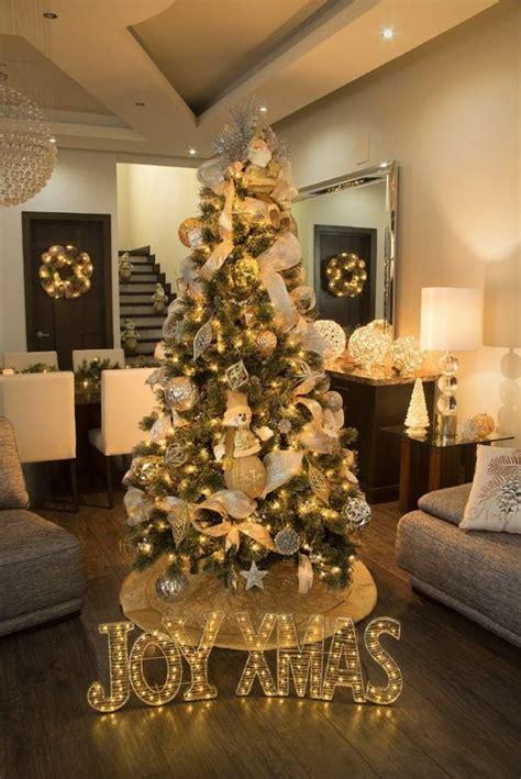 ideas  decorar el arbol de navidad  decoracion de interiores fachadas  casas