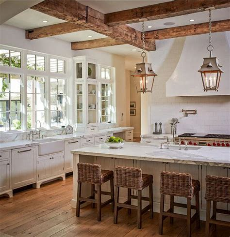 attractive country kitchen designs ideas that inspire you la tendance poutres apparentes 41 bons exemples
