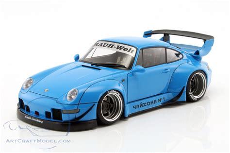 rwb porsche blue porsche 911 993 rwb blue 78152 ean 674110781526