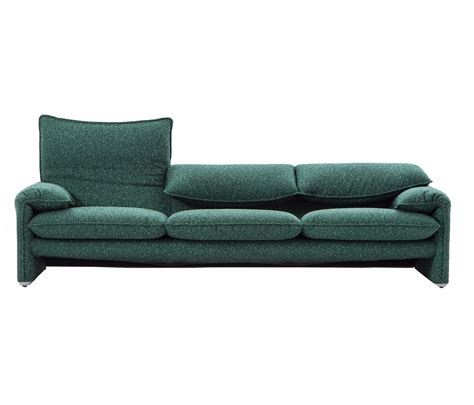 cassina sofa 675 maralunga 40 lounge sofas from cassina architonic