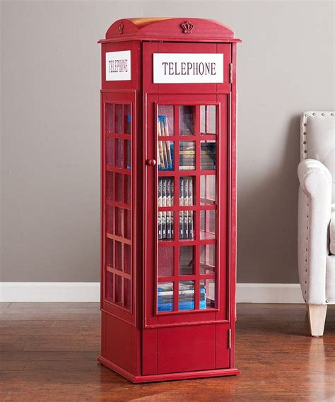 look at this phone booth storage cabinet on zulily today
