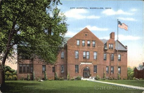 Massillon Post Office by City Hospital Massillon Oh