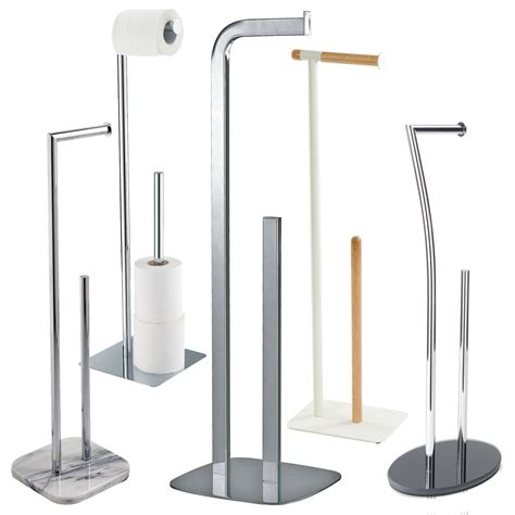 free standing toilet paper holder with storage showerdrape free standing floor standing toilet roll