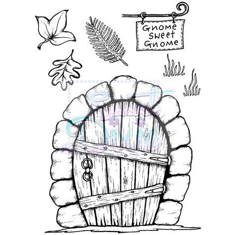 printable elf door lindsay mason new fairy door sts