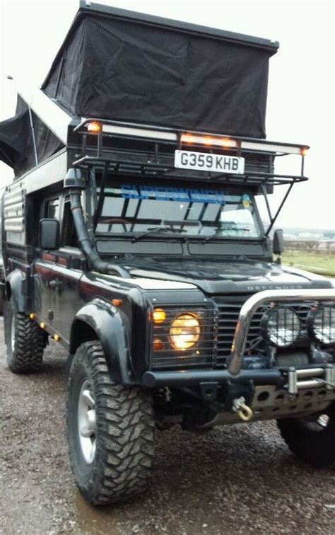 land rover expedition vehicle details about landrover defender 130 expedition vehicle
