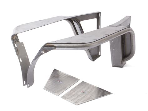 Inner Fander Depan Triton yj 4 quot flare front fenders steel genright jeep parts