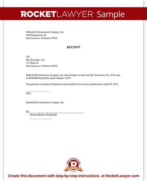 doc 575709 document receipt template general receipt