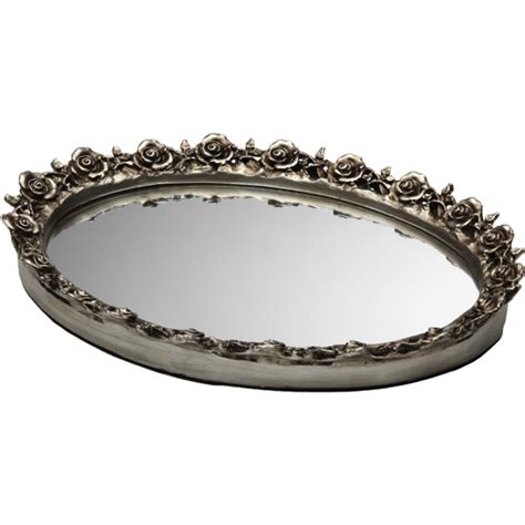 Mirror Vanity Trays decorative vanity mirror tray in vanity and sink accessories