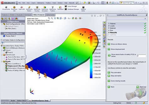 solidworks fea tutorial solidworks mountainboard tutorial on behance