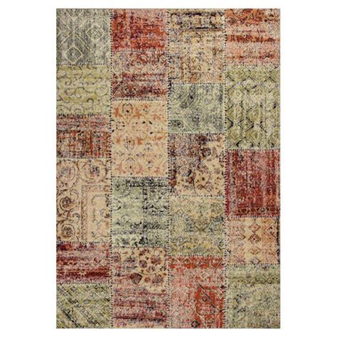 Vintage Patchwork - kas rugs vintage patchwork beige 5 ft 3 in x 7 ft 7