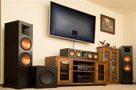home theater subwoofer puts boom in this room