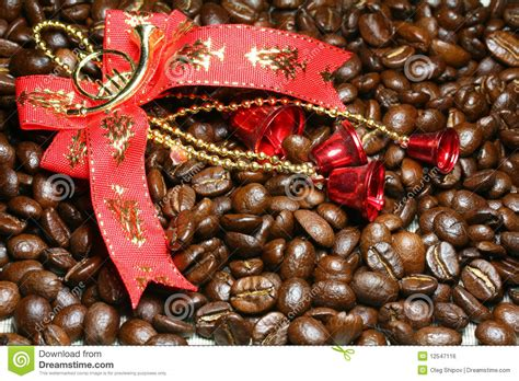 cafe natale decora 231 227 o e caf 233 do natal imagem de stock royalty free
