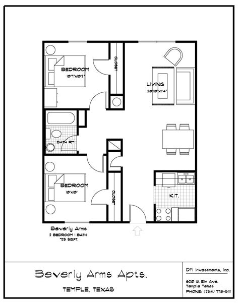 simple 2 bedroom house plans lovely simple 7 bedroom house