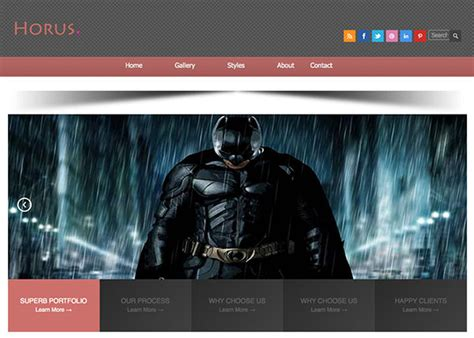 free html5 templates with slider sprint free html5 template creative beacon html5