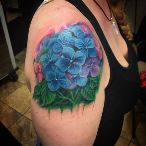 hydrangea tattoos designs ideas and meaning tattoos for you