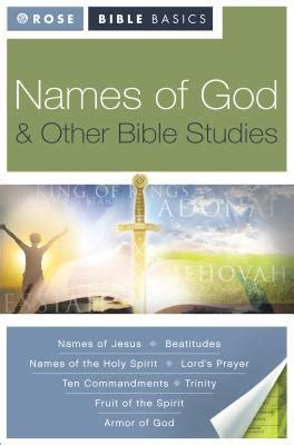 god of creation bible study book a study of genesis 1 11 books names of god other bible studies by publishing