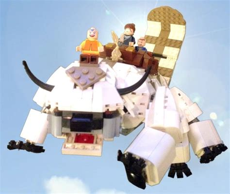 Lego Avatar Concept by Legends Of The Avatar Set Would Combine The Best Of