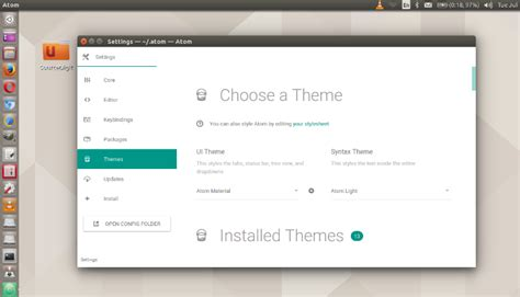 atom themes best 5 best atom themes for ubuntu systems