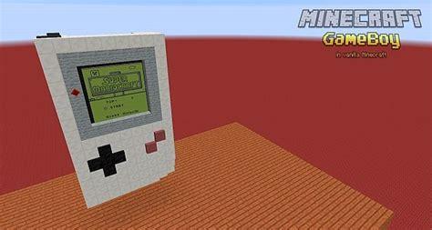 game boy mod minecraft vanilla minecraft quot gameboy quot by thefero minecraft project