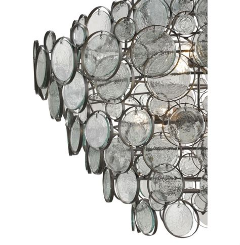 Recycled Glass Chandeliers Iona Coastal Style Recycled Glass Medallion Iron 12 Light Chandelier