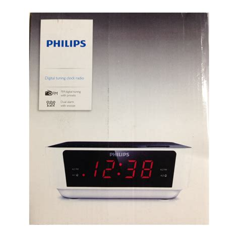 Jam Alarm Philips Clock Radio Aj3226 digital radio alarm clock philips digital tuning clock
