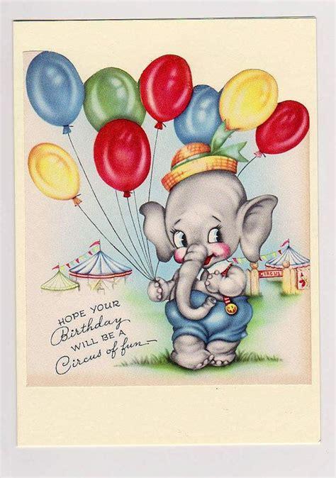 Vintage Birthday Card Ideas
